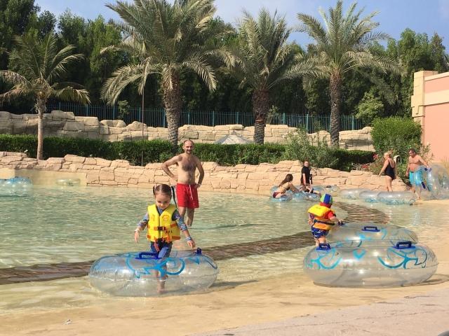 Lazy River Waterpark Atlantis Hotel