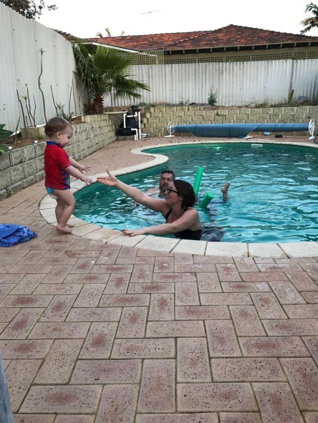 Helen & Eamonn's Pool
